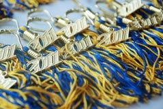 Avläggande av examenTassels 2011 Royaltyfri Foto