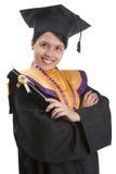 avläggande av examentid Fotografering för Bildbyråer