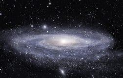 avlägsen galax arkivfoto