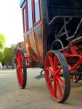 Avlägsen västra vagn royaltyfria bilder