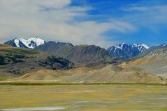 Avlägset alpint land Arkivfoton