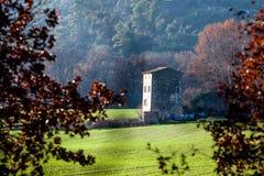 Avlägset hus i Provence, Frankrike Royaltyfria Bilder