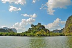 Avlägsna öar i Thailand Arkivfoto
