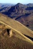 avlägsna kullar för öken Royaltyfria Bilder