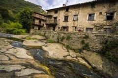 Avla byn, Spanien Fotografering för Bildbyråer