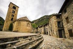 Avla den medeltida byn Arkivbilder