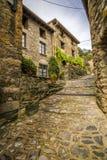 Avla den medeltida byn, Spanien Arkivfoto