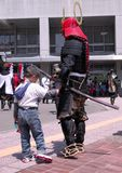 avla min samurai Arkivbilder