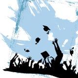 avläggande av examendeltagare Royaltyfria Bilder
