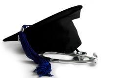 avläggande av examenmedicinsk fakultet Arkivfoto