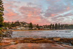 Avoca Beach Seascape. Taken at Avoca Beach, Central Coast, NSW, Australia Royalty Free Stock Photography