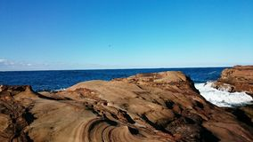 Avoca Beach View. Beautiful view in Avoca Beach, Sydney NSW Australia Stock Photo
