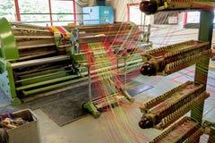 Avoca Handweavers, tkactwo młyn w Wicklow górach, Irlandia zdjęcia royalty free