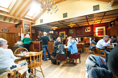 Avoca's Fitzgerald pub interior Stock Images