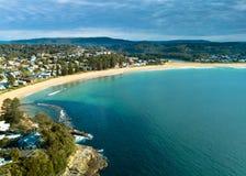 Avoca-Strand Australien lizenzfreie stockfotos