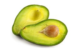 Avocado-ölige nahrhafte Frucht Stockbild