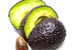 Avocado 1. Stockfoto