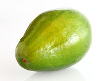 Avocado. Beauty avocado in white background Royalty Free Stock Photography