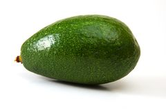 Avocado. On isolated white background Stock Photography