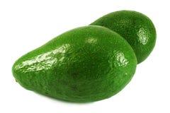 Avocado. Isolated, on a white background Royalty Free Stock Image