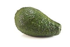 Avocado. Ripe avocado isolated on white Stock Image