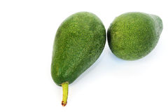 Avocado. On white background, horizontal picture Royalty Free Stock Images
