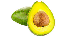 Avocado. The avocado on white background Stock Photo