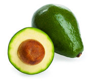 Avocado. S isolated on a white background Royalty Free Stock Image