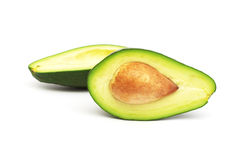 Avocado. Slices Royalty Free Stock Images