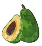 Avocado vector illustratie