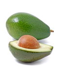 Avocado. Vegetable avocado, tropic healthy fruit Stock Photography