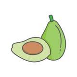 Avocado Lizenzfreie Stockbilder