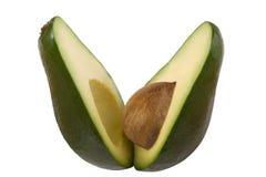 Avocado. Fresh avocado isolated on white Royalty Free Stock Photography