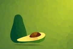 Avocado abstract. Royalty Free Stock Photography