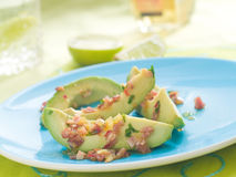 Avocado appetizer Royalty Free Stock Image