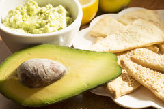 Avocado appetizer Royalty Free Stock Photography
