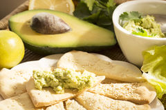 Avocado appetizer Stock Photography