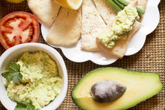 Avocado appetizer Royalty Free Stock Photo