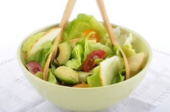 Avocado apple cherry tomato salad Stock Photography