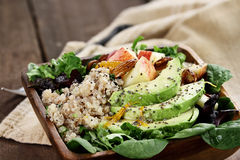 Avocado and Apple Salad Royalty Free Stock Photography