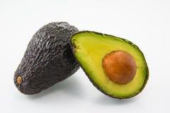 Avocado auf einem weißen Hintergrund Stockfoto
