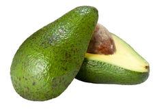 Avocado auf Hälfte Lizenzfreies Stockfoto