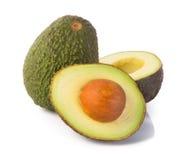 Avocado. Avocado op een Achtergrond Royalty-vrije Stock Foto's