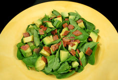 Avocado And Bacon Salad Stock Image