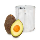Avocado can Royalty Free Stock Photo