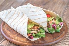 Free Avocado Chicken Tacos Stock Images - 109949334