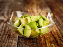 Avocado chopped Royalty Free Stock Photography