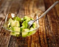 Avocado chopped Royalty Free Stock Photos