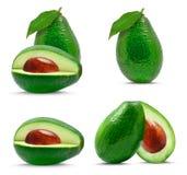 Avocado collage Royalty Free Stock Photo