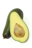 Avocado con osso Stock Photo